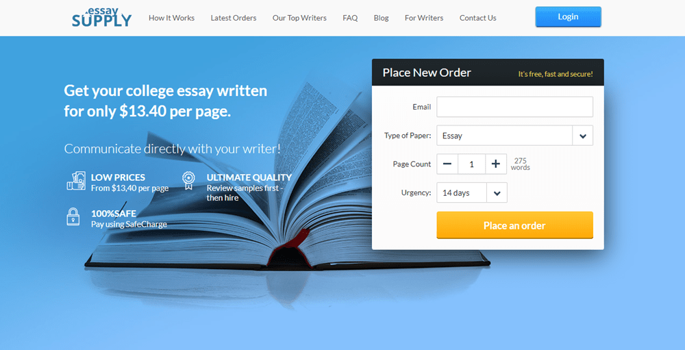 Essay Supply the best essay writing service