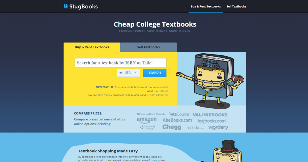 Cheap Textbooks Online - Slug Books